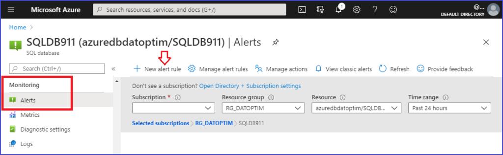 configurar-alertas-en-azure-sql-database