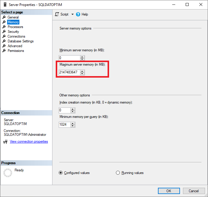 configurar-memoria-en-sql-server
